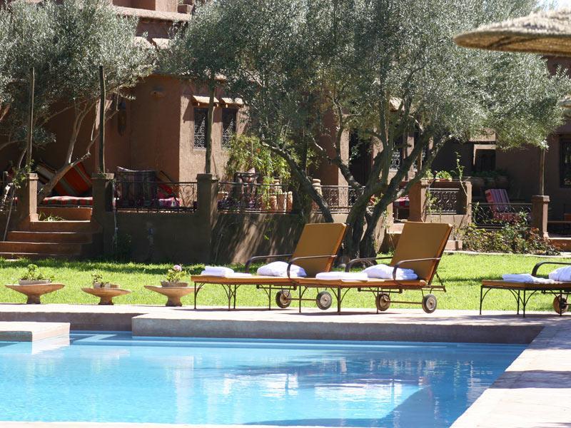 Kechtrip r server piscine jnane leila marrakech for Construction piscine marrakech